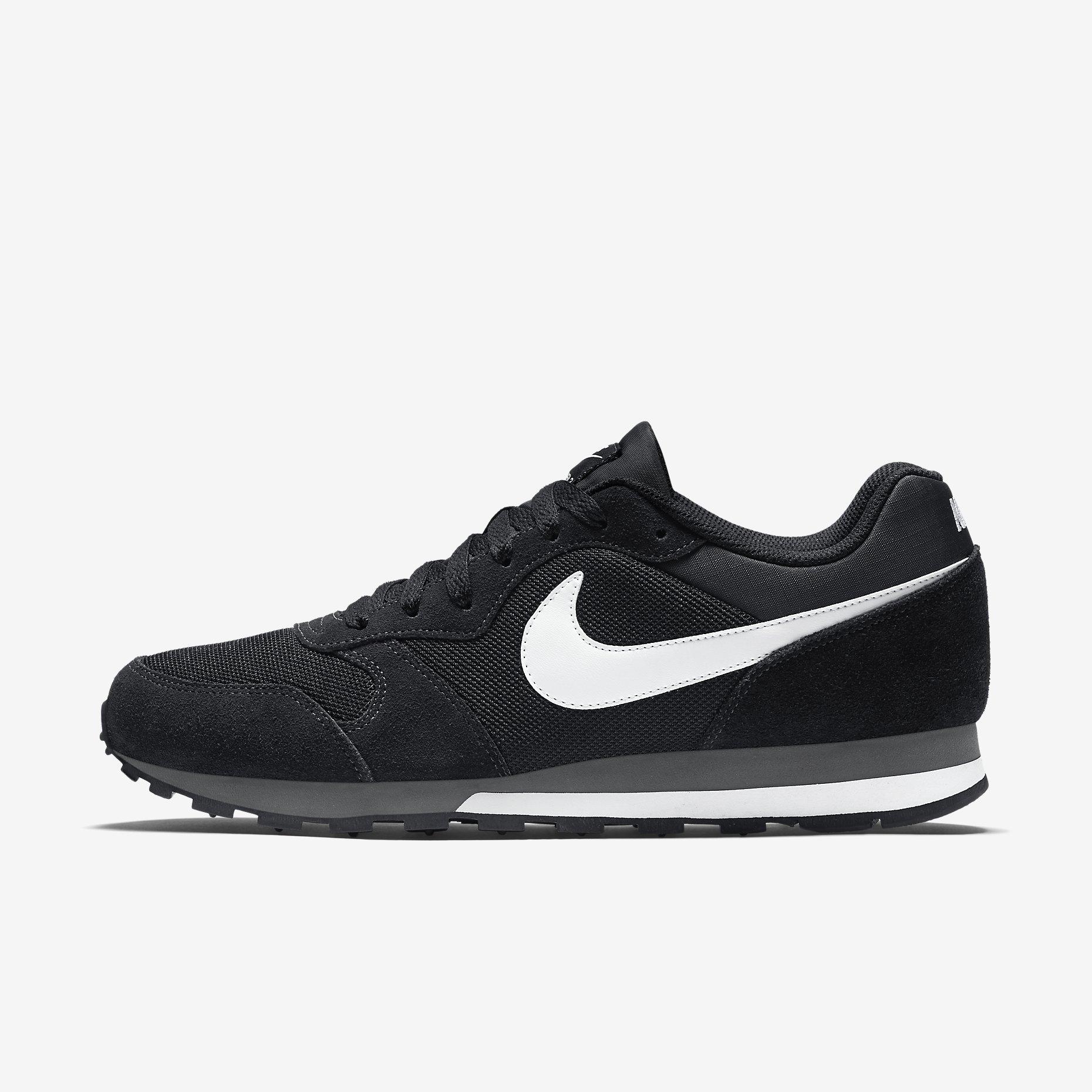 Nike MD Runner 2 Schwarz Weiß, Herren – NewKicks