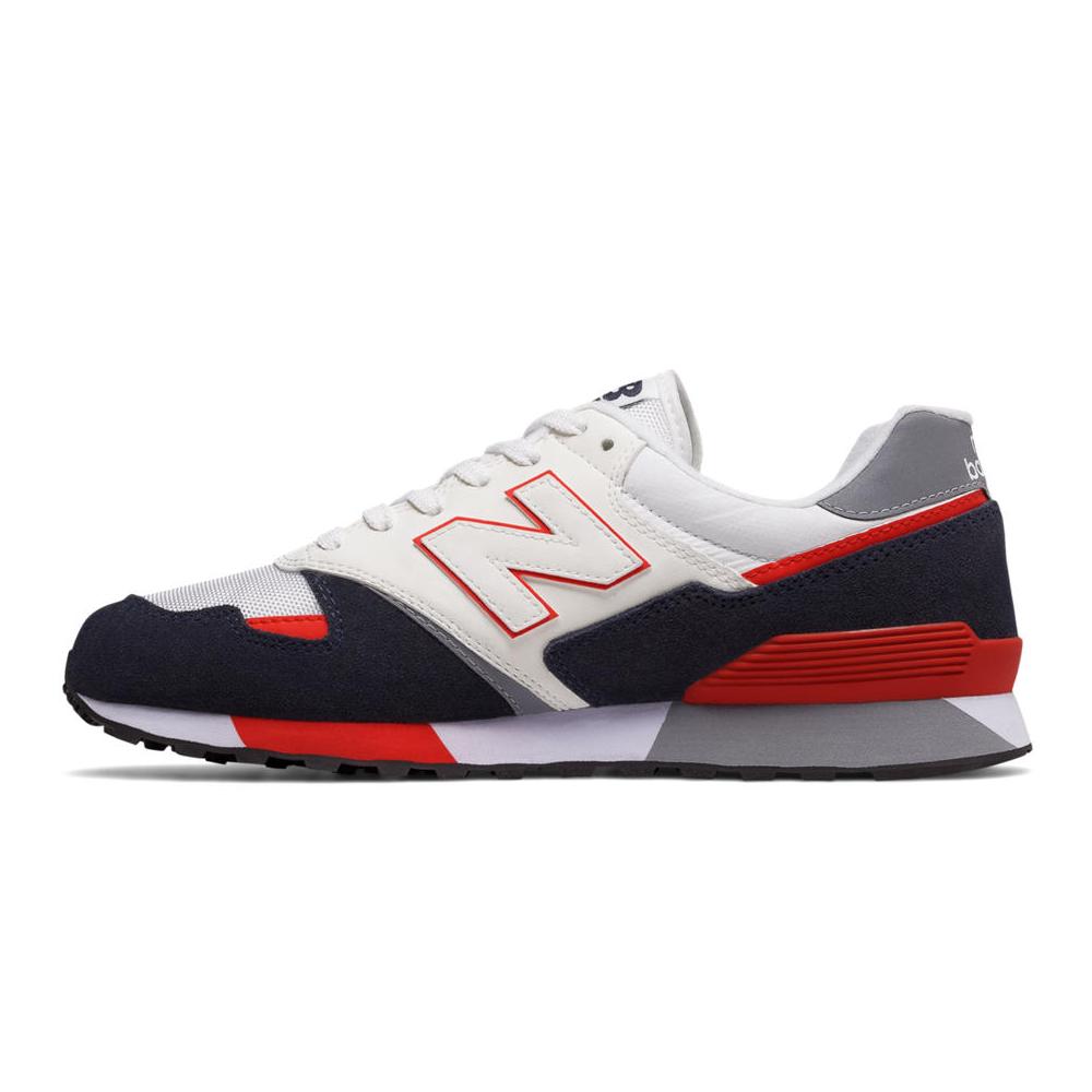 New Balance 446 80s Running Schwarz / Rot, Herren – NewKicks