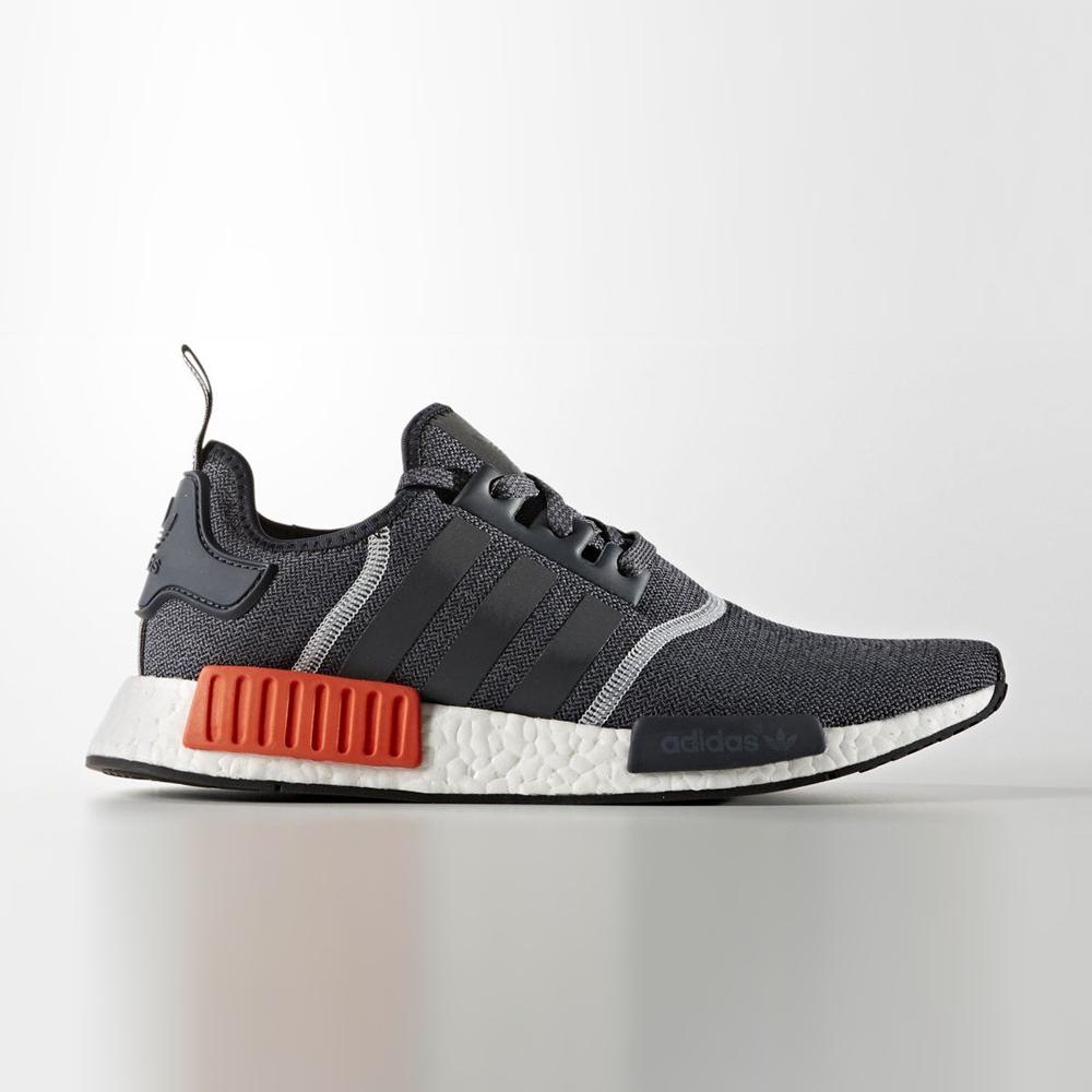 lowest discount designer fashion online here Adidas NMD R1 Grau / Orange, Herren – NewKicks